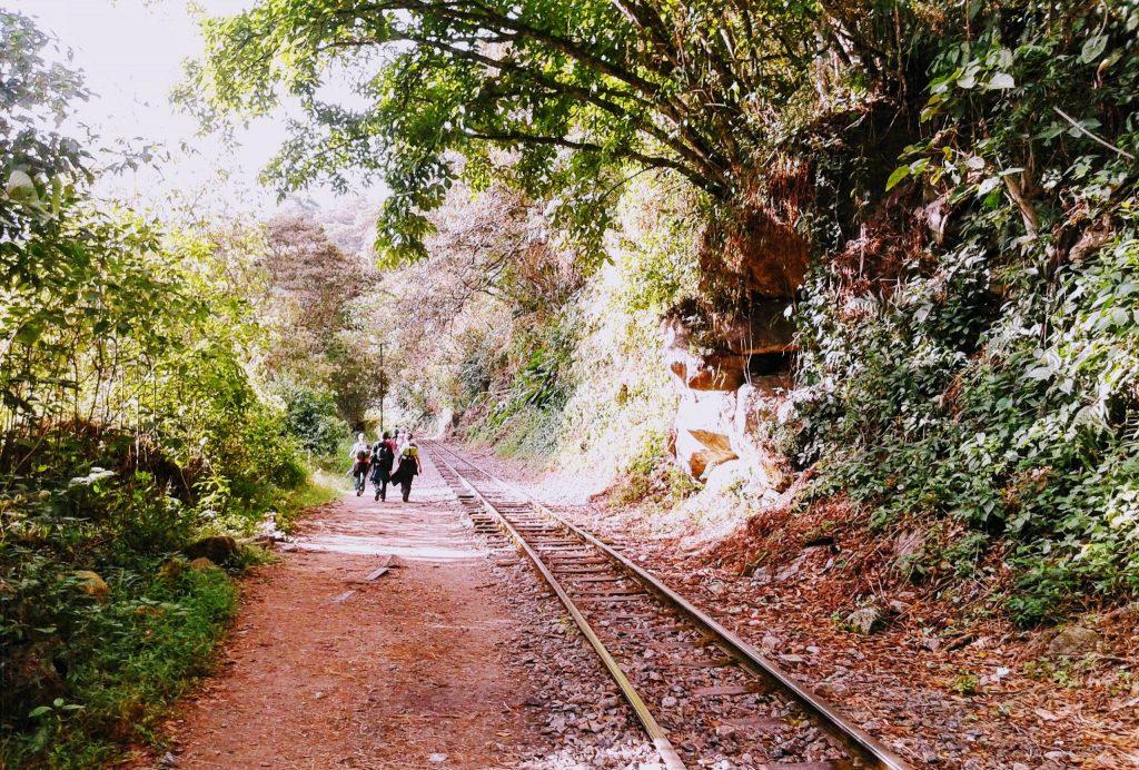 Camino a Aguas Calientes, Machupichu, Perú | @rominitaviajera 2014 | Romina Hidalgo Marchione