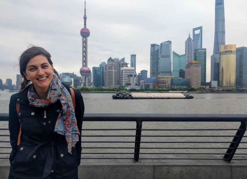 Romina Hidalgo Marchione | Formadora y Coach Profesional | Foto en Shanghai 2017